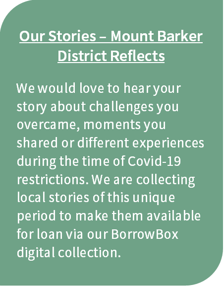 Our Stories - Mount Barker District Reflects